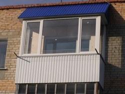 объединение кухни и балкона в Калтане