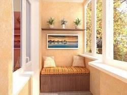 Внутренняя отделка балконов и лоджий в Калтане
