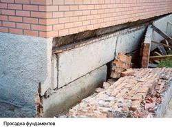 Восстановление фундамента г.Калтан